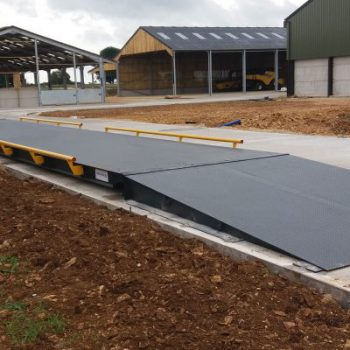 Eurodeck Weighbridge Installation - Cotswolds case study