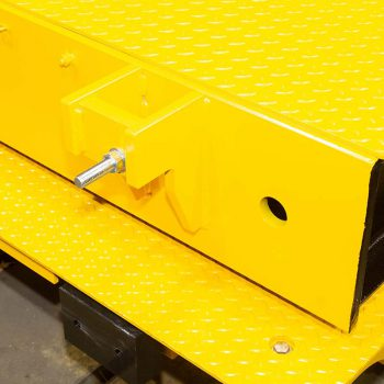 Newly manufactured weighbridge with screws now added