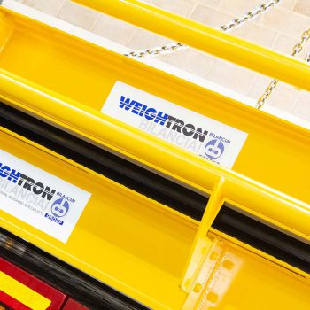 Weighbridge warehouse successfully loaded lorries