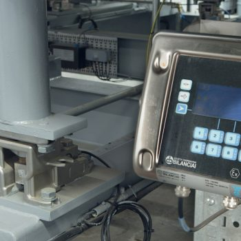 Process weighing systems display screen
