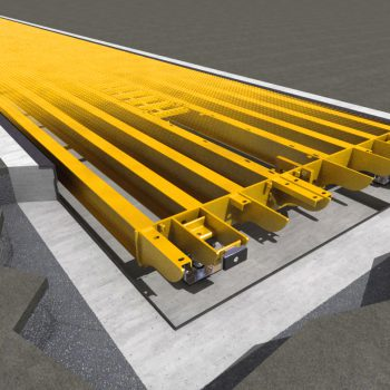 Pit mounted weighbridges design