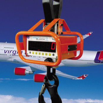 Crane scale assembly plays important safety role for Virgin Atlantic Airways case study