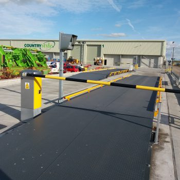 Weighbridge Automation - barrier installation