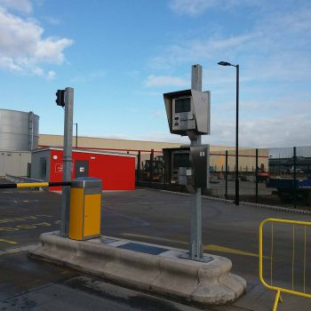 DD2050 weight terminal installed