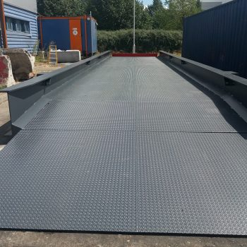 Large heavy duty weighbridge