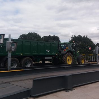 Heavy duty weighbridge for traffic management