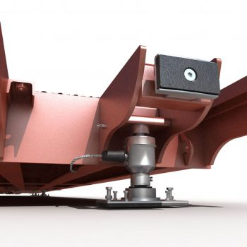 Surface Mounted Eurodeck SB Weighbridge - mechanics design