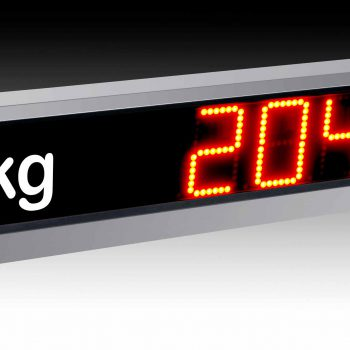 Large digital weight indicator