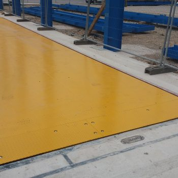 Example of Pit mounted Eurodeck Weighbridge already installed