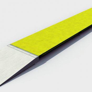 Design drawing of surface mounted Eurodeck weighbridge