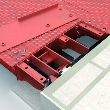 Surface mounted Eurodeck SB Weighbridge - hinge design