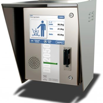 DD2050 touch-screen weighing terminal