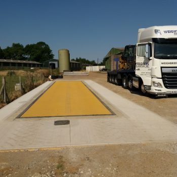 Warden Farm weighbridge