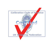 calibration code of practice certified